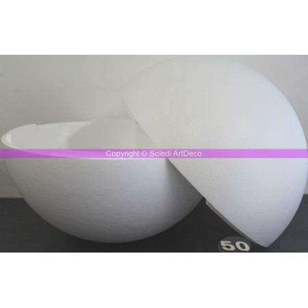 Polystyrene ball separable, diameter 50 cm / 500 mm, high density