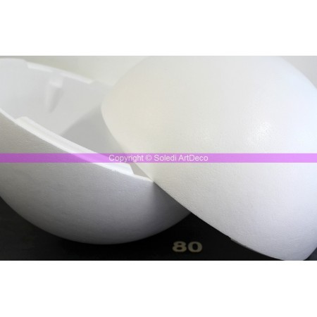Polystyrene ball XXL, diameter 80 cm / 800 mm, high density