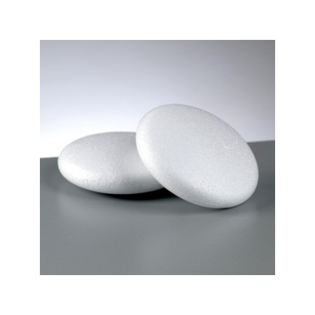 Polystyrene form medallion, diameter 10 cm, high density