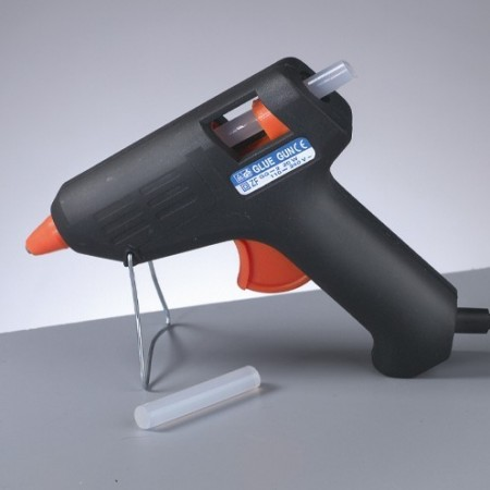 Hot glue gun, 20W, for Hot glue sticks diameter 7.4 mm