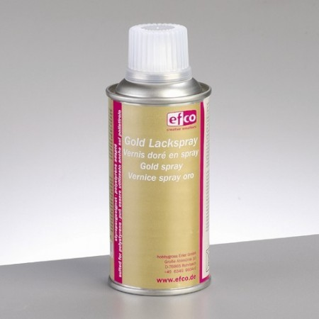 Spray color gold, adapted to polystyrene, 150 ml, CFC free