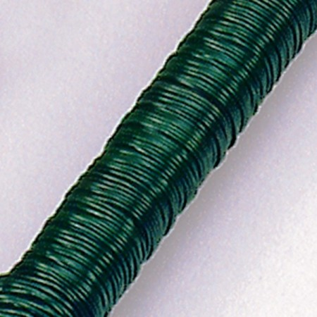 Winding wire Green, thickness 0,70 mm, approx. 33 m, weight 100g, for DIY and floral decoration