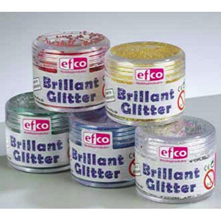 Poudre de paillettes Brillant Glitter fin, Flacon de 12 gr, multi-usage