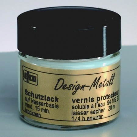 Protective varnish, 20 ml, for gold, silver and metal leaves