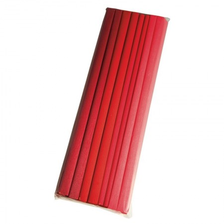 Lot de 10 rouleaux de Papier crépon, 10 couleurs assorties, 250x50cm, 30g/m²