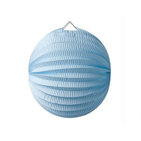 20 cm balloon lantern, blue sky accordion paper, hanging for a springtime decor