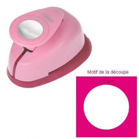 Mini Perforatrice motif Cercle, dimension 1.6 cm