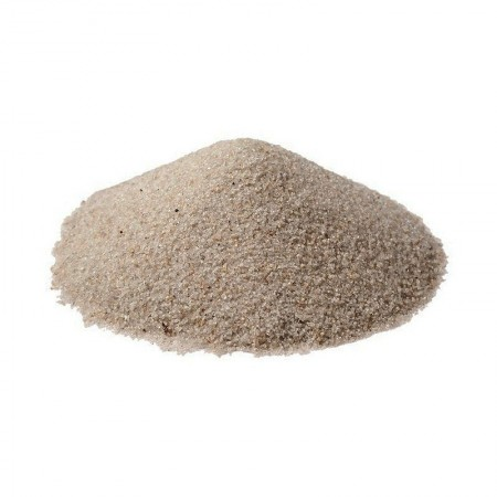 Fine Quartz Sand, Decorative Natural, 200gr, dim. 0.20 mm to 0.63 mm, 155 ml to scatter