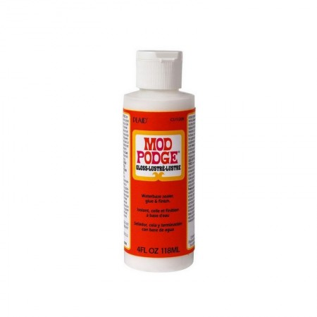 Mod Podge Colle pour collage serviette, Finition Brillant, Flacon de 118 ml