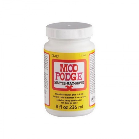 Mod Podge Glue, for towel gluing, Matte finish, 236 ml bottle