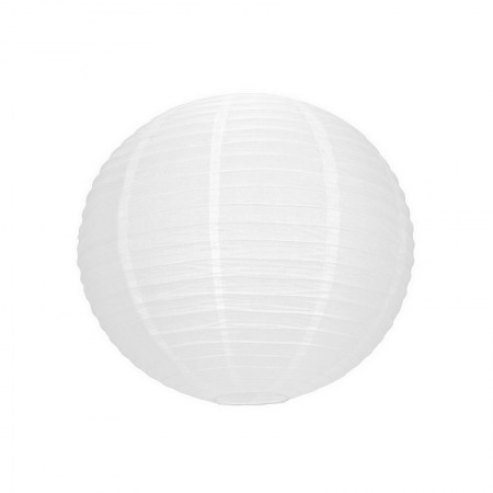 Small Balloon Lampion, Mini White Japanese Lantern, 15 cm, Hanging