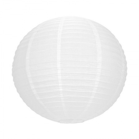 Lampion Ball, Japanese lantern white, 35 cm in diameter, to hang