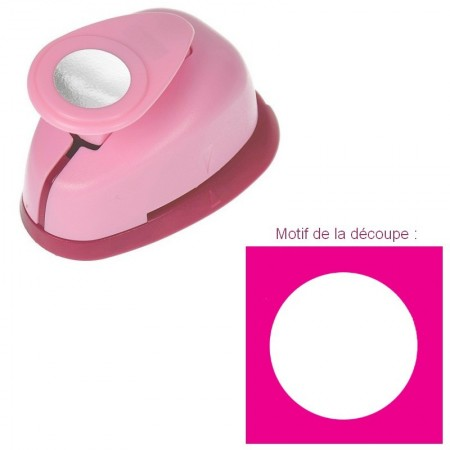 Perforatrice motif Cercle, dimension 2,8 cm