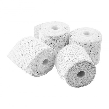 Set of 2 Rolls, Plaster Casting Strip, Width 15 cm × 4.6 meters