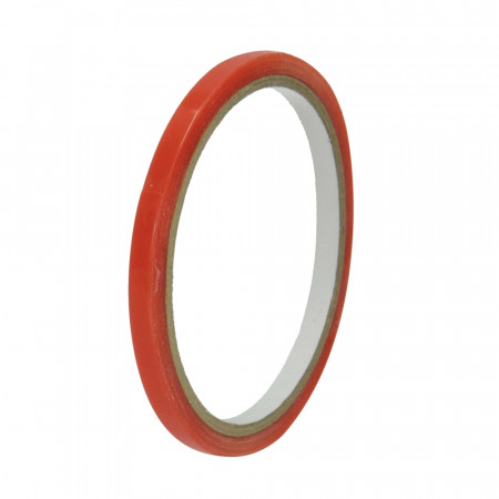 Tacky super-adhesive, double-sided, translucent tape, 5 meters, width. 6 mm