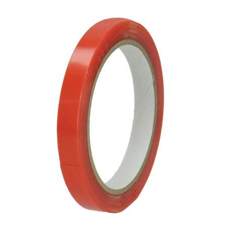 Super adhesive tape, double sided translucent, Tacky, width. 12 mm, 5 meters
