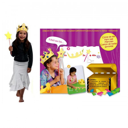 Rubber foam costume kit, diy for little girl, Fairy tale