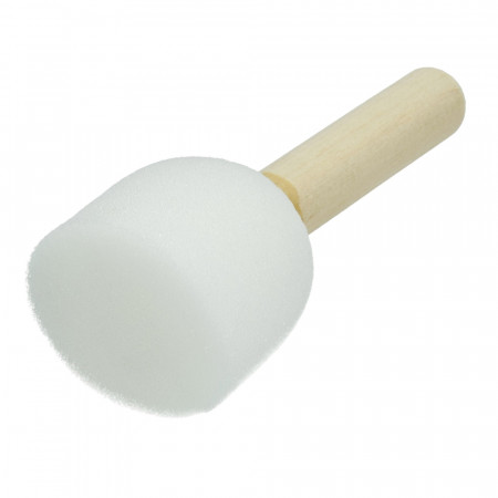Foam tip brush, diameter 4 cm, stencil pads