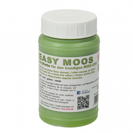 Acrylic paint, imitation green foam, 200 ml bottle, Easy Moos, all surfaces