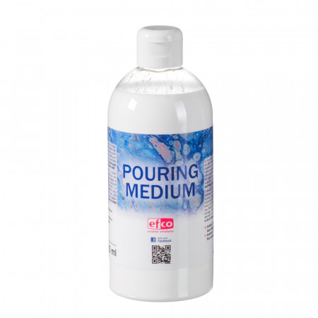 Pouring paint medium, transparent, 500 ml bottle