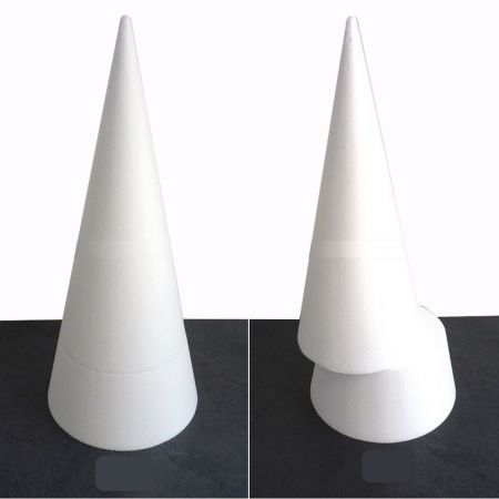 Big polystyrene cone PRO, height 50 cm, high density 25 kg/m3