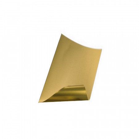 Brass sheet, 300 x 200 x 0.3 mm, for decoration, creation