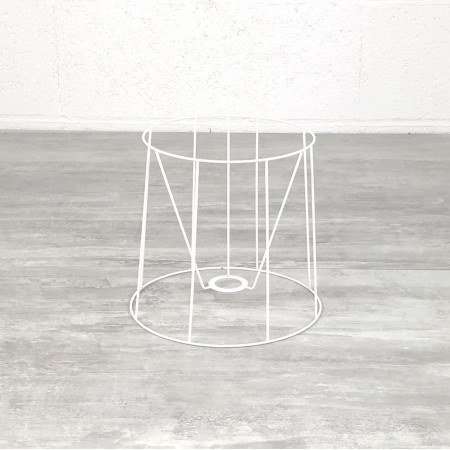 """Carcass lampshade """"American"""" 20 cm, Cone-shaped frame with 8 branches in anti-corrosion epoxy, for E14"""