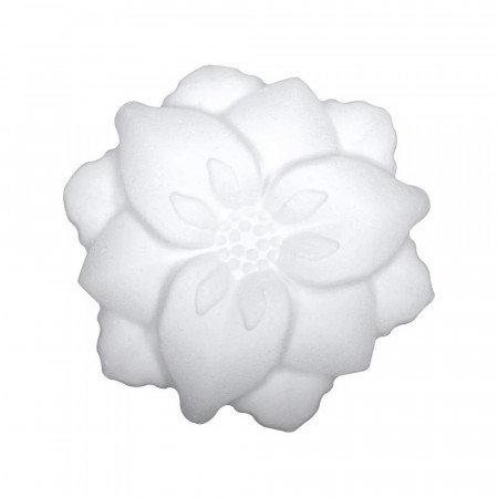 Set 3 Polystyrene form flowers with petals 2D, diameter 14 cm, high density
