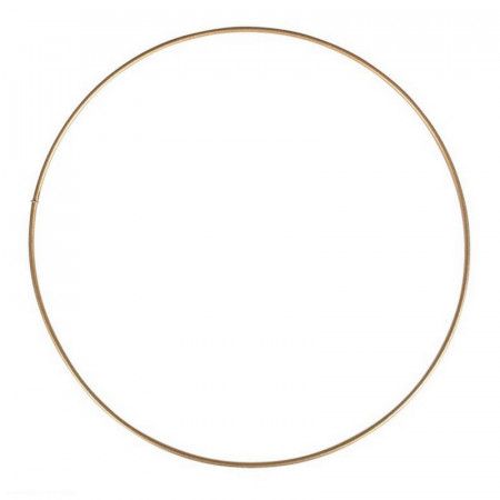 Large antique gold Metal Circle of 50 cm for Shades, Epoxy Wire ring for Dream Catcher