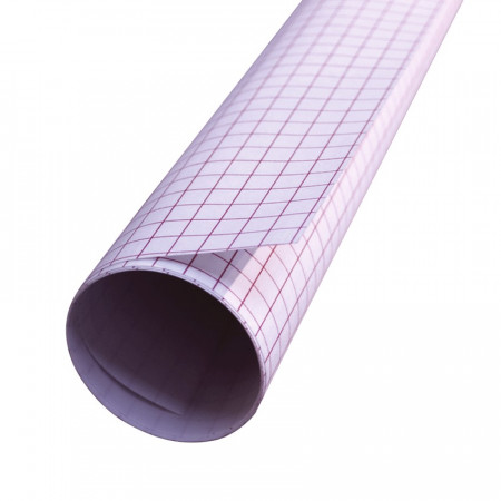 Lamp foil in Polyphane 2 m x 0.60 m, adhesive on 1 side, thickness 0.25mm