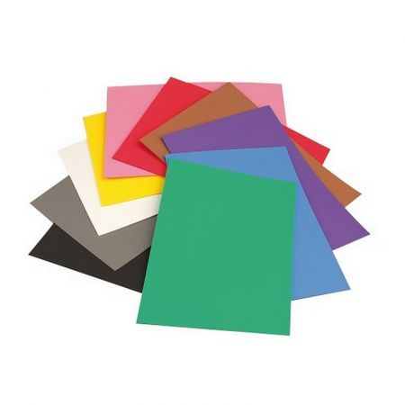 Set of 10 flexible rubber sheets, thermoformable, Créasoft, 30 x 45 cm, th. 2 mm