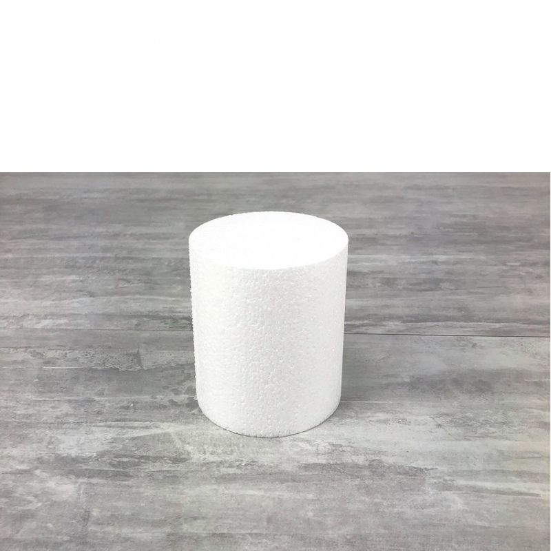 Polystyrene disc, thickness 7 cm, 9 different diameters, high density 28 kg/m3