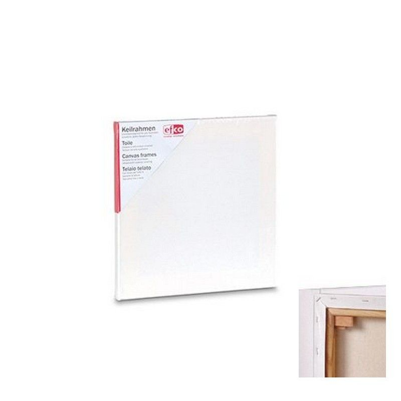 Lot 4 Canvas frames 10x10 cm, thickness 1.7cm, Ultrasmooth superior covering, for all techniques