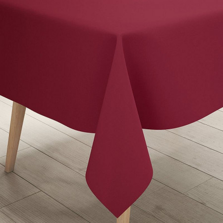 Tablecloth roll, Bordeaux, non-woven, size 1.20 x 10 m, Airlaid fabric effect, for weddings and ceremonies